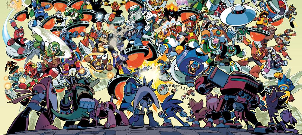 Impressions Sonic Amp Mega Man Worlds Collide 7 9