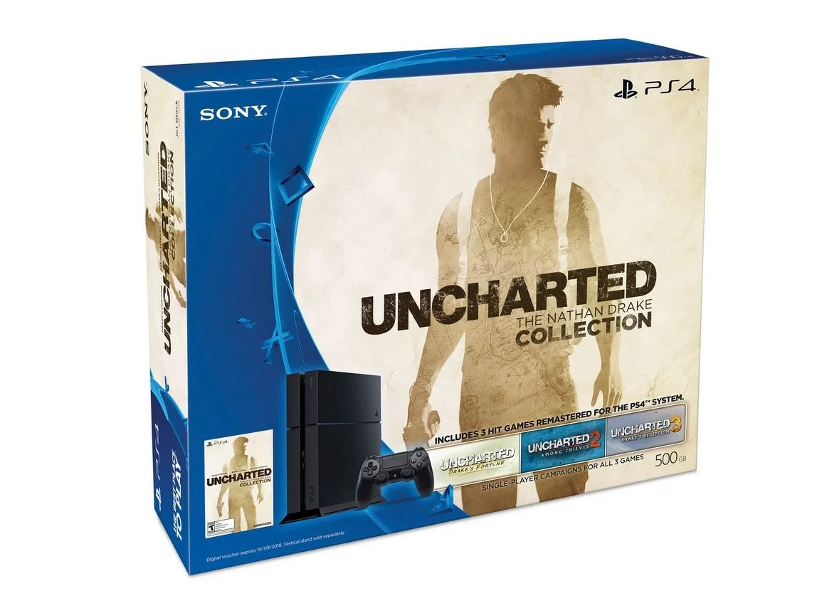 PS4 Deal Uncharted Bundle Now Only 310