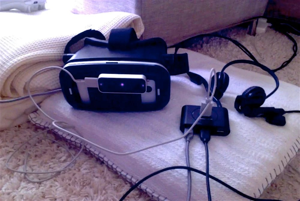 Guide How To Make A Dirt Cheap Steam VR Headset With Low Lag