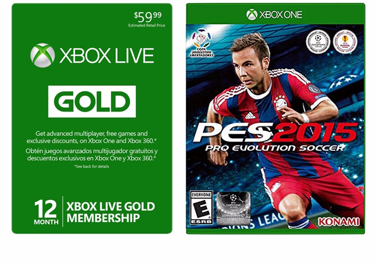 Hot Deal Xbox Live 12 Month Card Free PES 2015 For 3999