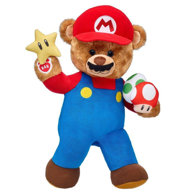 Build-A-Bear Workshop is getting Mario-themed plushies   PerezStart