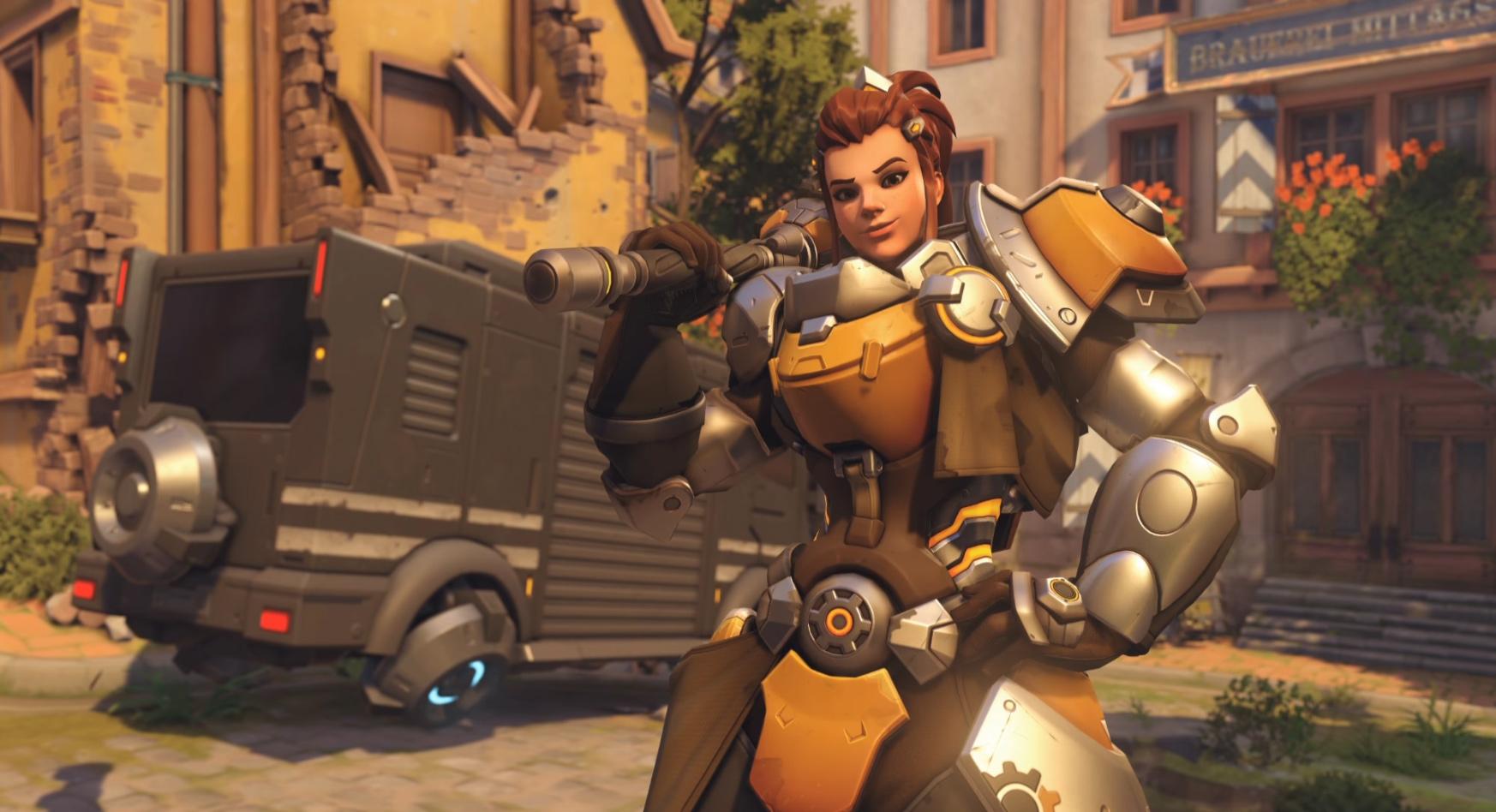 The Next Overwatch Hero Is Torbjorns Daughter Brigitte