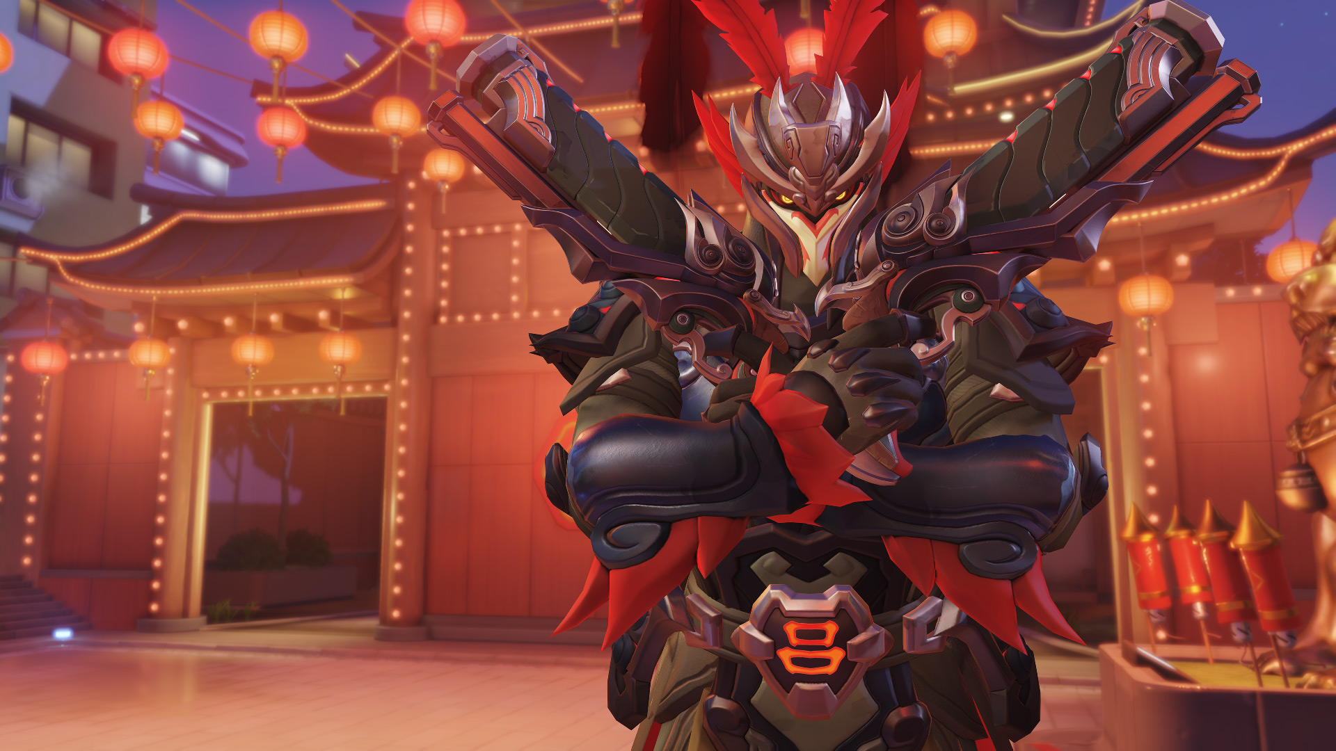 Overwatch S Lunar New Year 2019 Brings Out Some Mighty Beards
