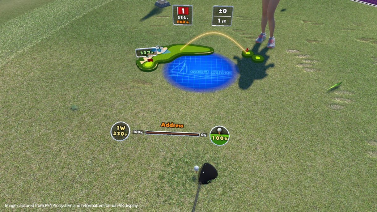 Image result for Everybody's Golf VR