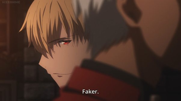 fate stay night, fate unlimited blade works, faker, fake anime figure