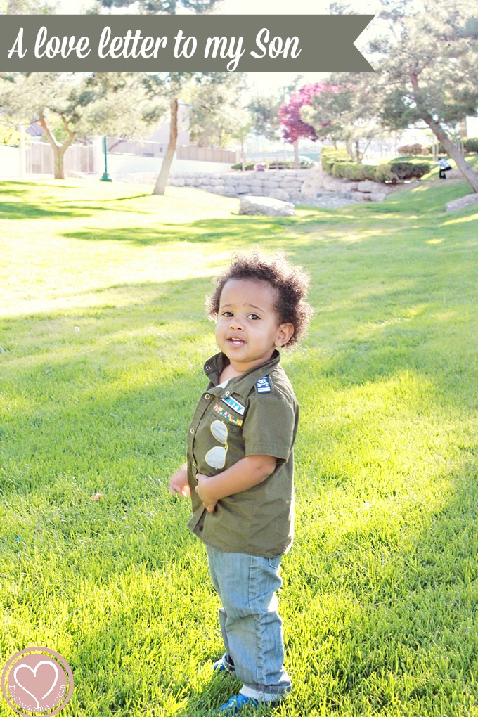 love letter to my son, biracial baby, multiracial children, multiracial parenting