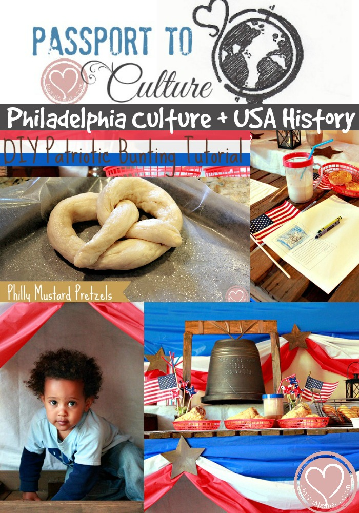 travel culture party for kids