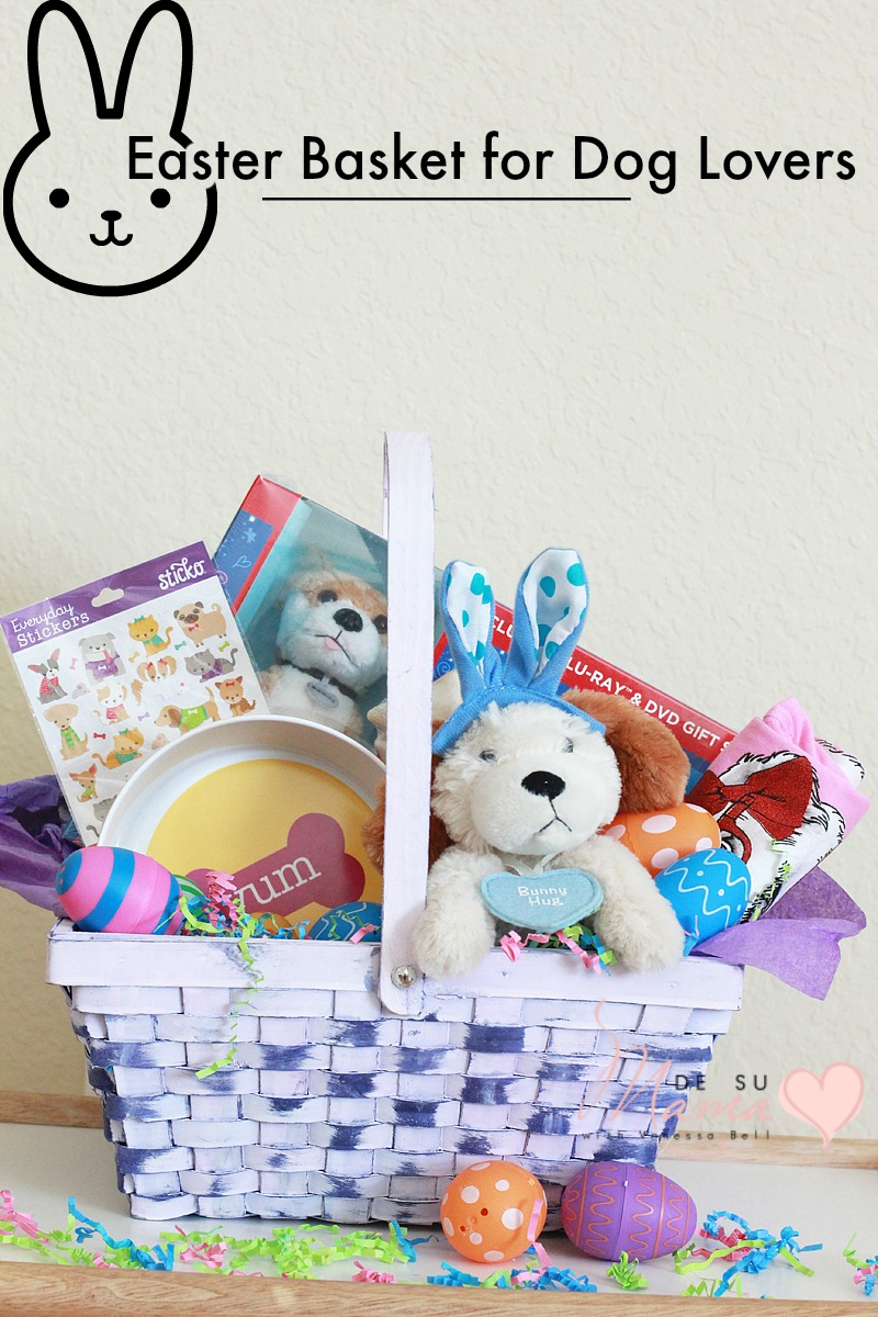 An annie inspired easter basket for dog lovers de su mama easter basket dog lovers annie movie dsm 3 negle Images
