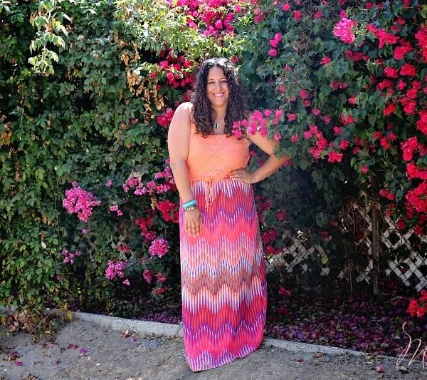 Walmart Summer Dress, Latina Mom Blogger