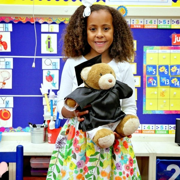 Dual Immersion Spanish Kindergarten Student: Latina Mom Blogger