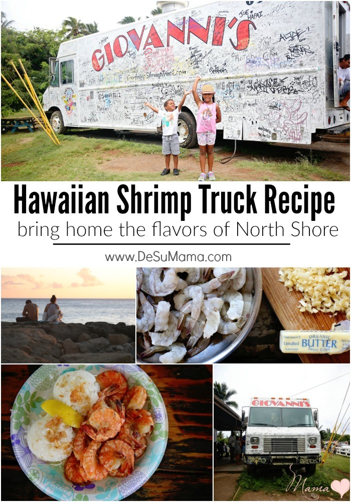 Hawaiian Food Truck Garlic Shrimp