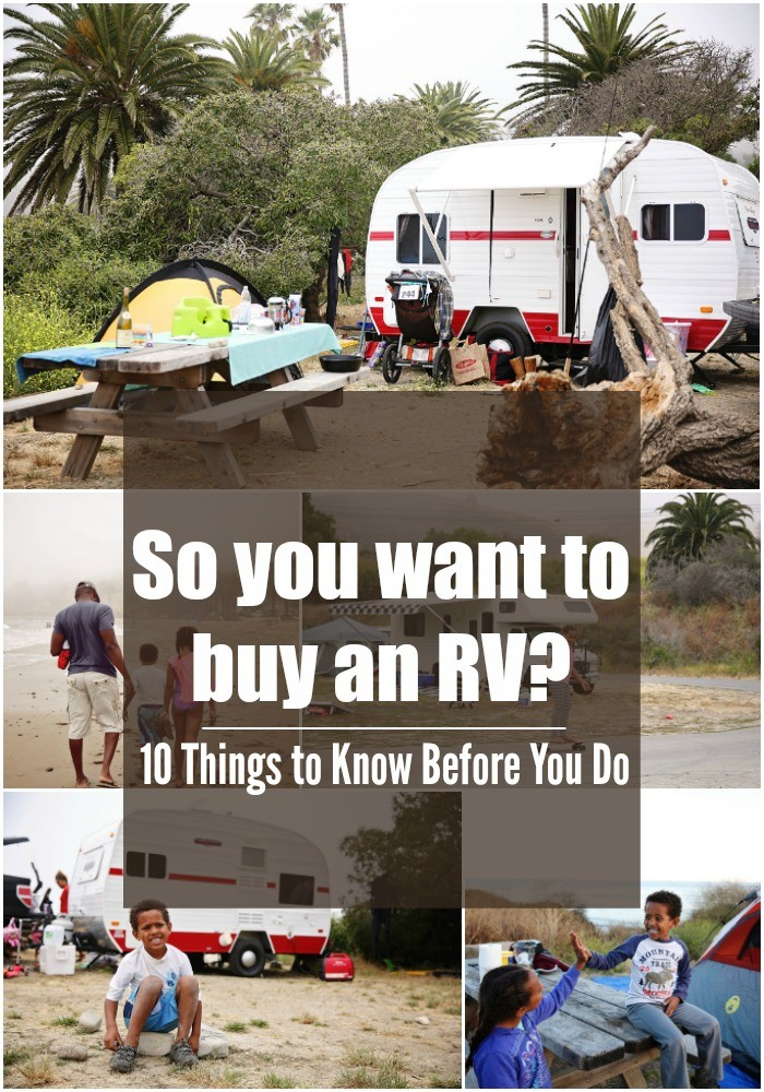 buying an rv for beginners