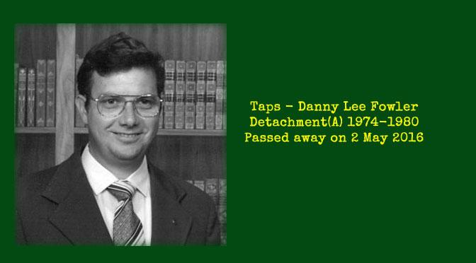 TAPS – Danny Lee Fowler
