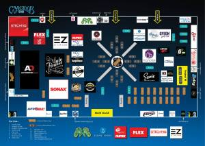 Waxstock 2018 floorplan