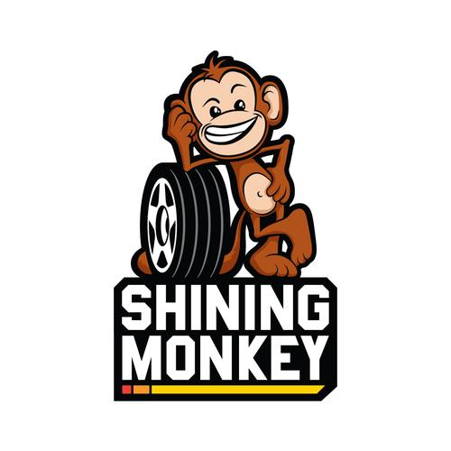 Shining Monkey logo