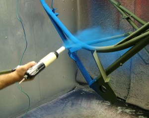 What is powdercoating