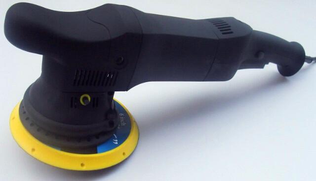 Orbital machine polisher