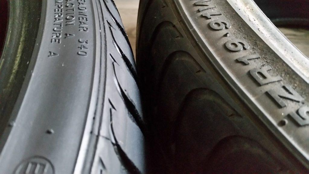 Clean tyres