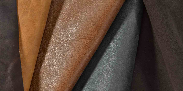 Different types of leather