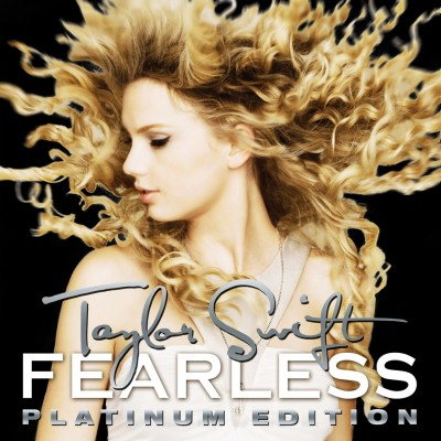 Taylor Swift - Fearless Platinum Edition Album Cover