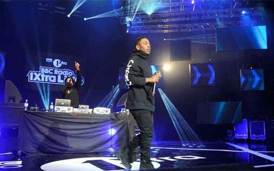 Kendrick Lamar 1Xtra Live