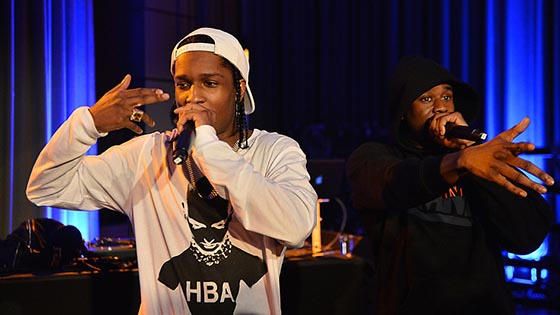 ASAP Rocky Radio 1 Future Festival