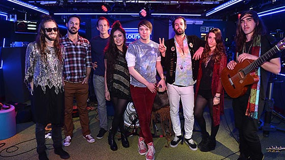 Crystal Fighters Rudimental Live Lounge