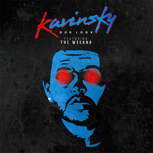 Kavinsky The Weekend Odd Look