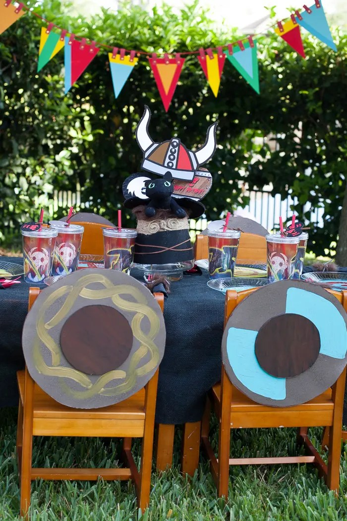 Viking Shields Party Decoration