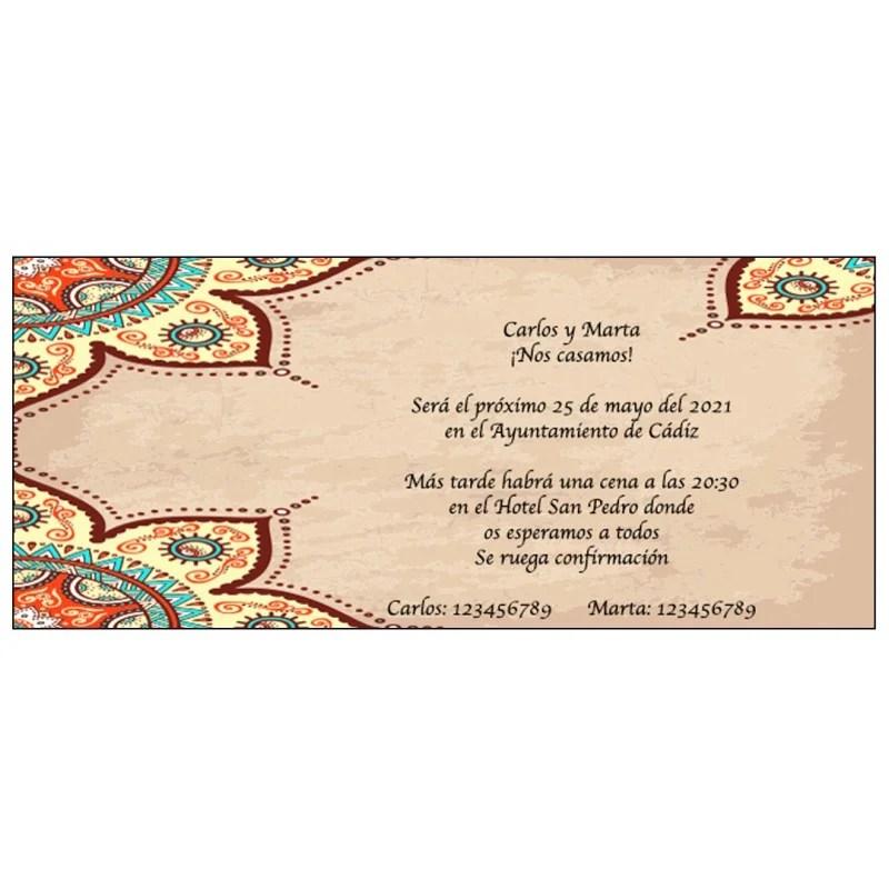 details pour invites