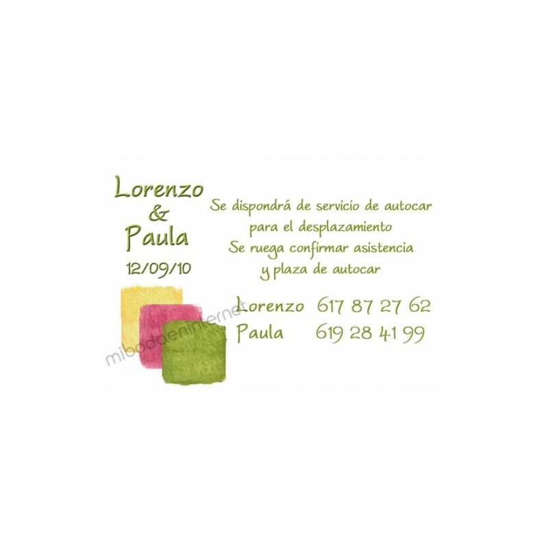 Tarjeta de Datos - B641112