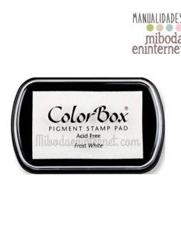 Tampon de Tinta Colorbox Blanco sin ácido