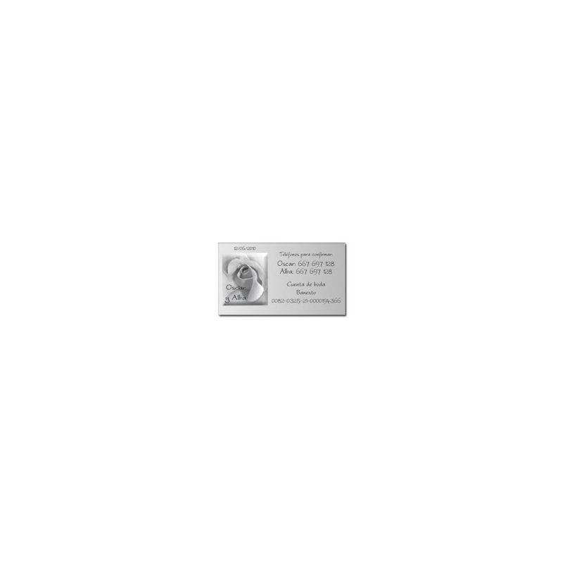 Tarjeta de Datos - B641183