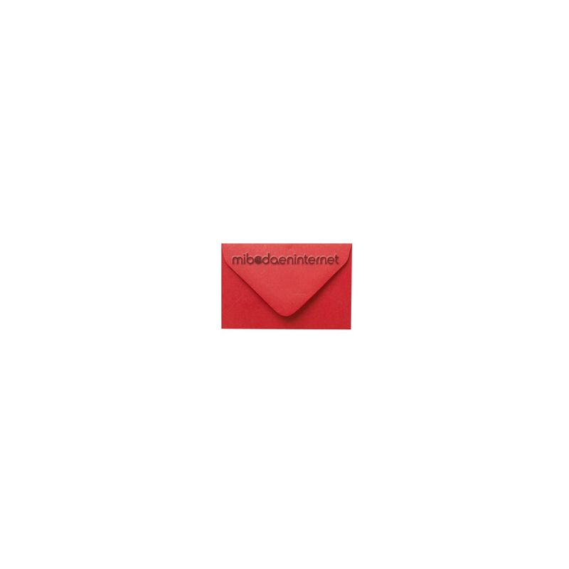 Sobre pequeño Rojo - SWP32