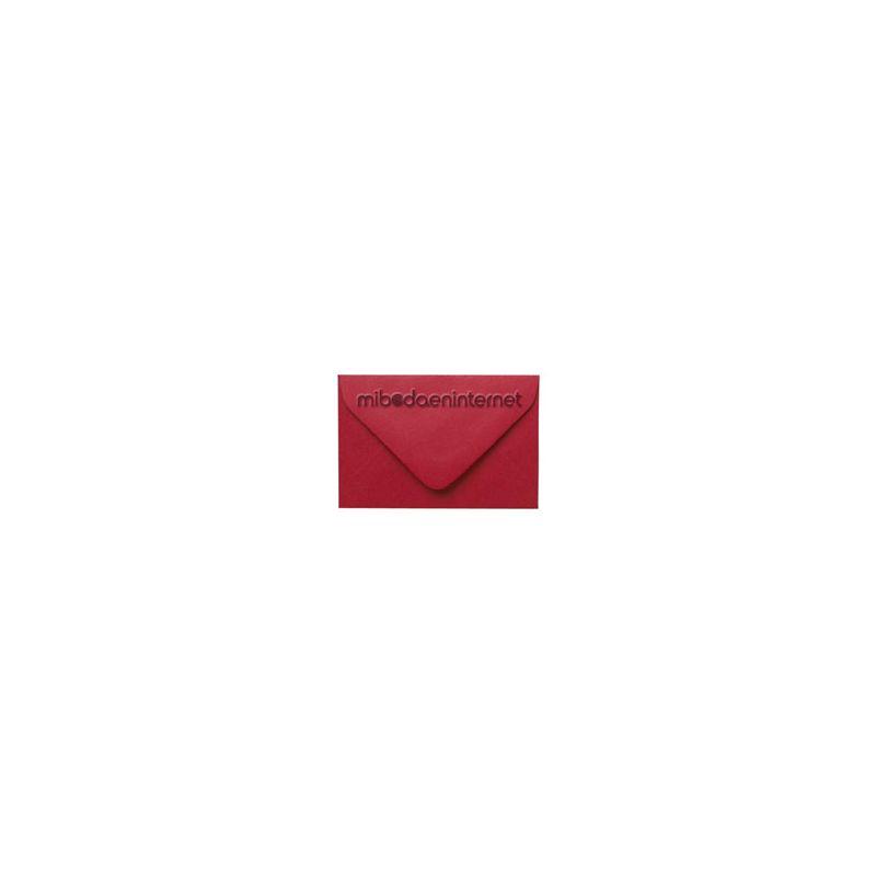 Sobre pequeño Rojo Carmín - SWP31