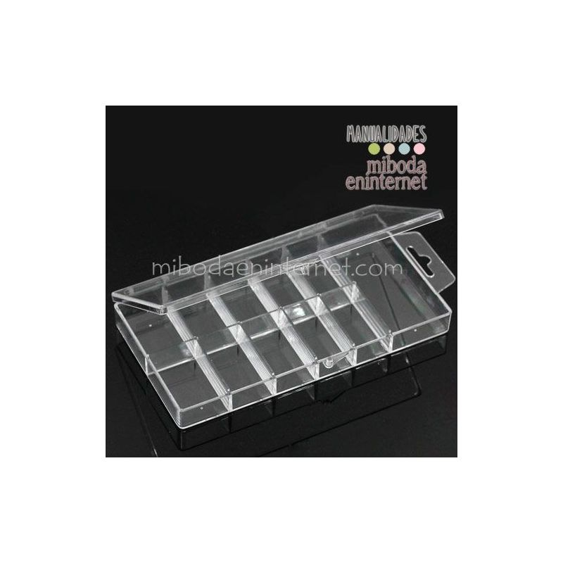 Caja organizador 11 espacios elementos especiales alta calidad