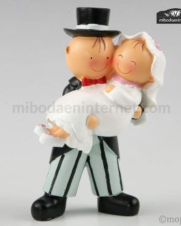 Pit & Pita novia en brazos
