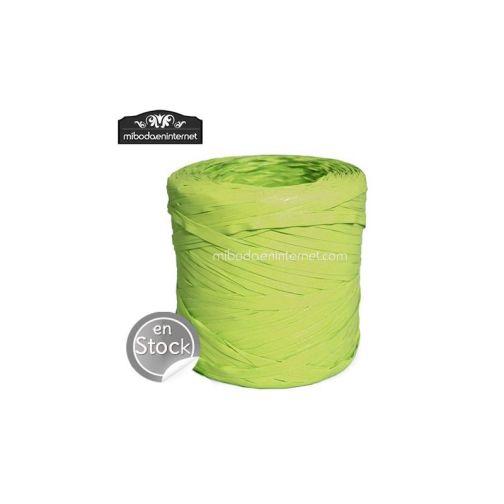 Rafia verde pistacho - precio por metro