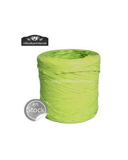 Rafia verde pistacho
