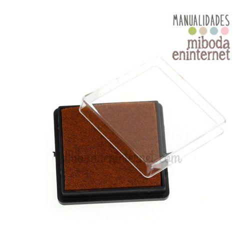 Tinta marron para difuminar fondo laterales etiquetas y pergaminos