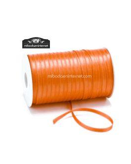 Cinta Raso Naranja 3mm – Metro
