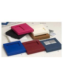 P25 Caja 2 Napolitanas Color Liso 10×1.5×10 cm