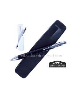 Bolígrafo Metal Pipo con funda