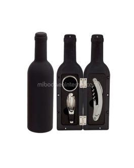 Set Vino Forma Botella