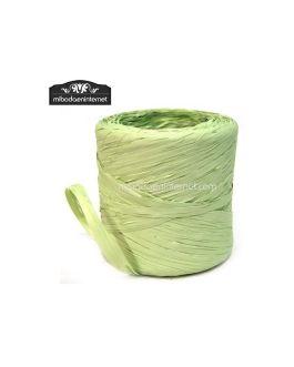 Rafia Vintage Verde Manzana