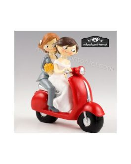 Chicas Pop & Fun Vespa