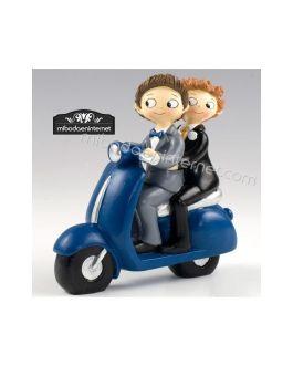Novios Chicos Pop & Fun Moto Vespa