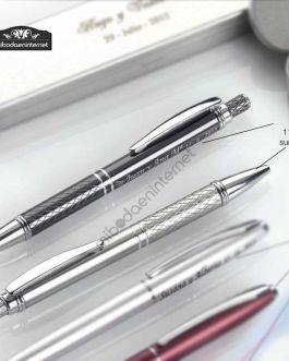 Boligrafo Colores Aluminio Dibujo