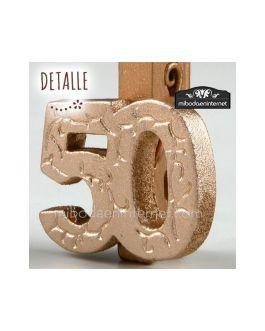 Pinza 50 Aniversario Bodas de Oro
