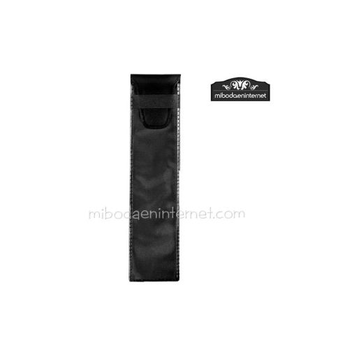 Funda Bolígrafo plástico 4x17 negro